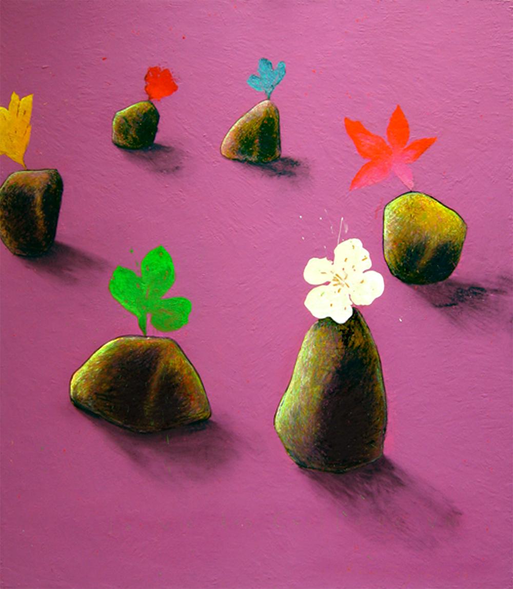 2006 - La vie des cailloux / The life of stones VIII