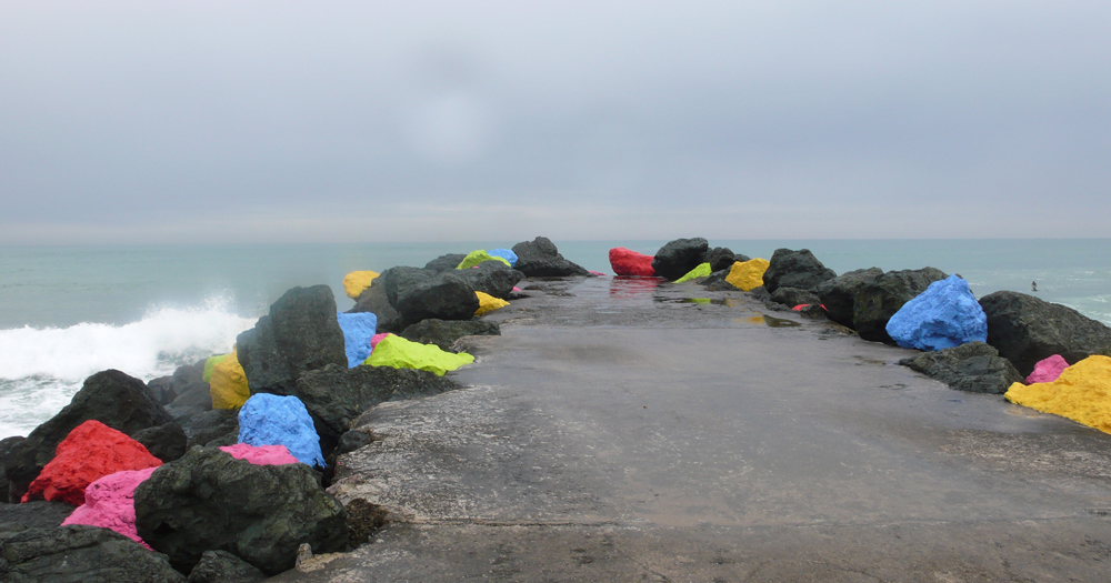 2007 - La digue / Sea wall