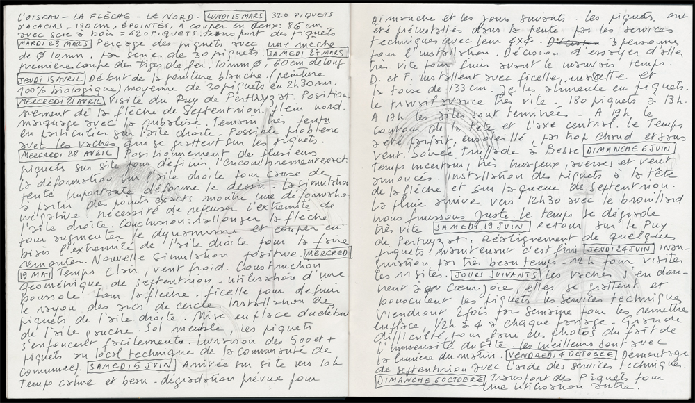 2010 -  Septentrion - Journal / Diary