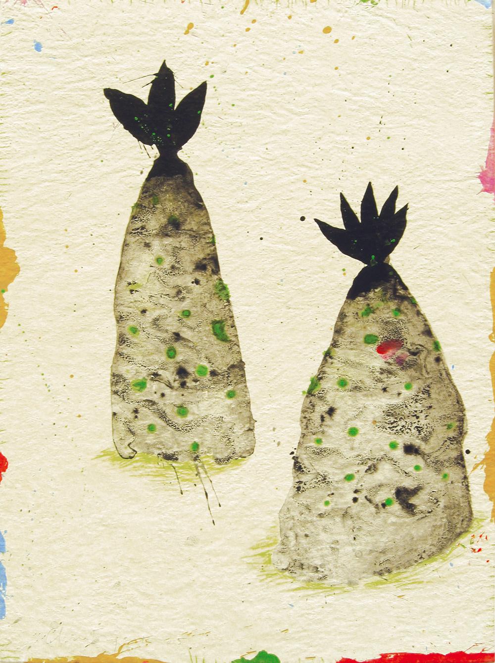 2005 - Mégalithe arborescent / Arborecent megalith n°5